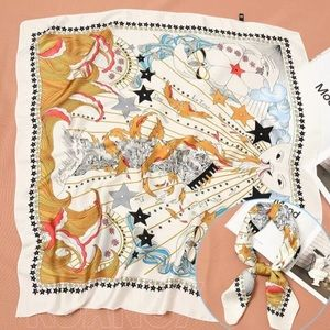 COMING SOON! Constellation Square Scarf